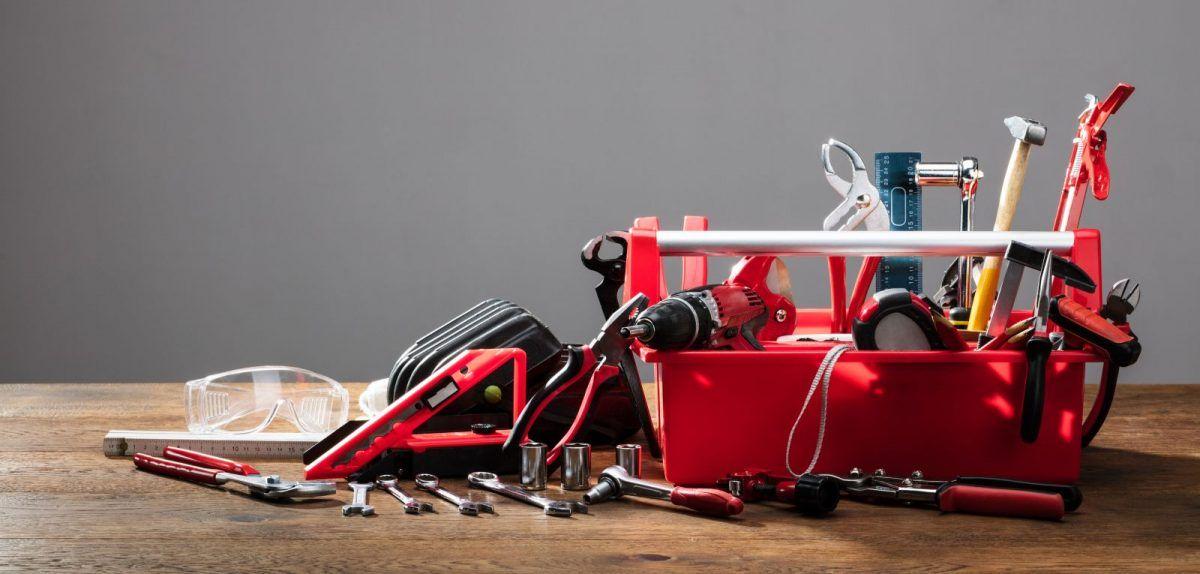 narzędzia potrzebne do naprawy