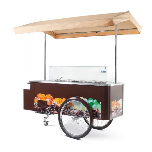 Wózek do lodów
